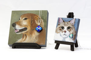 Collaboration with portrait artist creates two new pet memorial packages