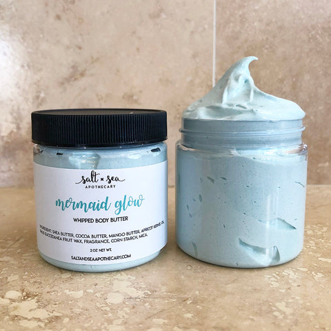 Mermaid Glow • Whipped Body Butter