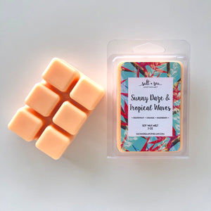 Sunny Daze & Tropical Waves • Soy Wax Melt
