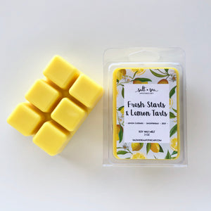 Fresh Starts & Lemon Tarts • Soy Wax Melt