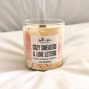 Cozy Sweaters & Love Letters