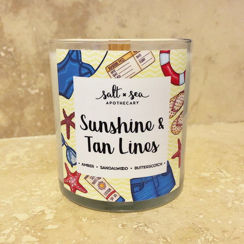 Sunshine & Tan Lines (DISCONTINUED) • Soy Candle