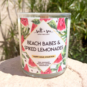 Beach Babes & Spike Lemonades • Soy Candle