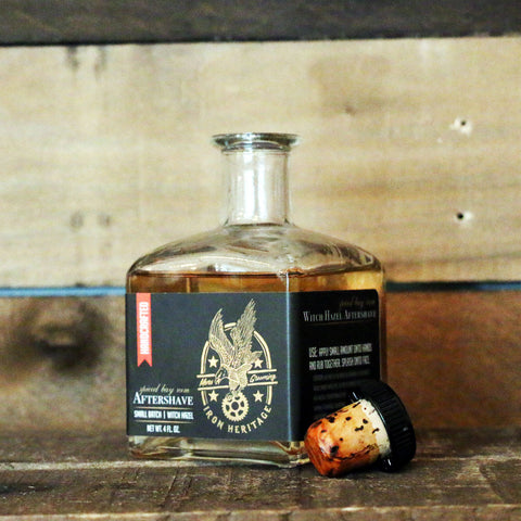 """Premium Spiced Bay Rum Aftershave"" by Iron Heritage"