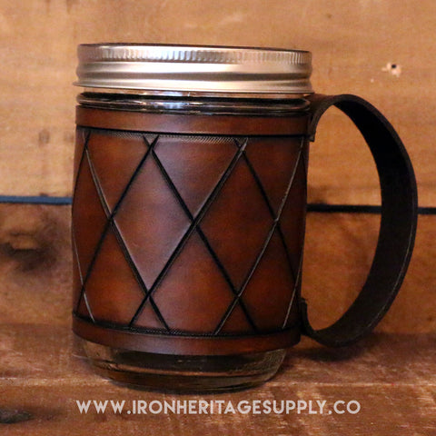 """Mason Jar Mugs (Quilted)"" by Largo Made"