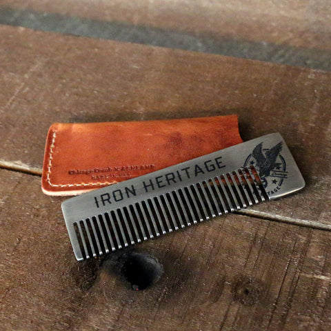 """Iron Heritage Matte Metal Comb"" by Iron Heritage"