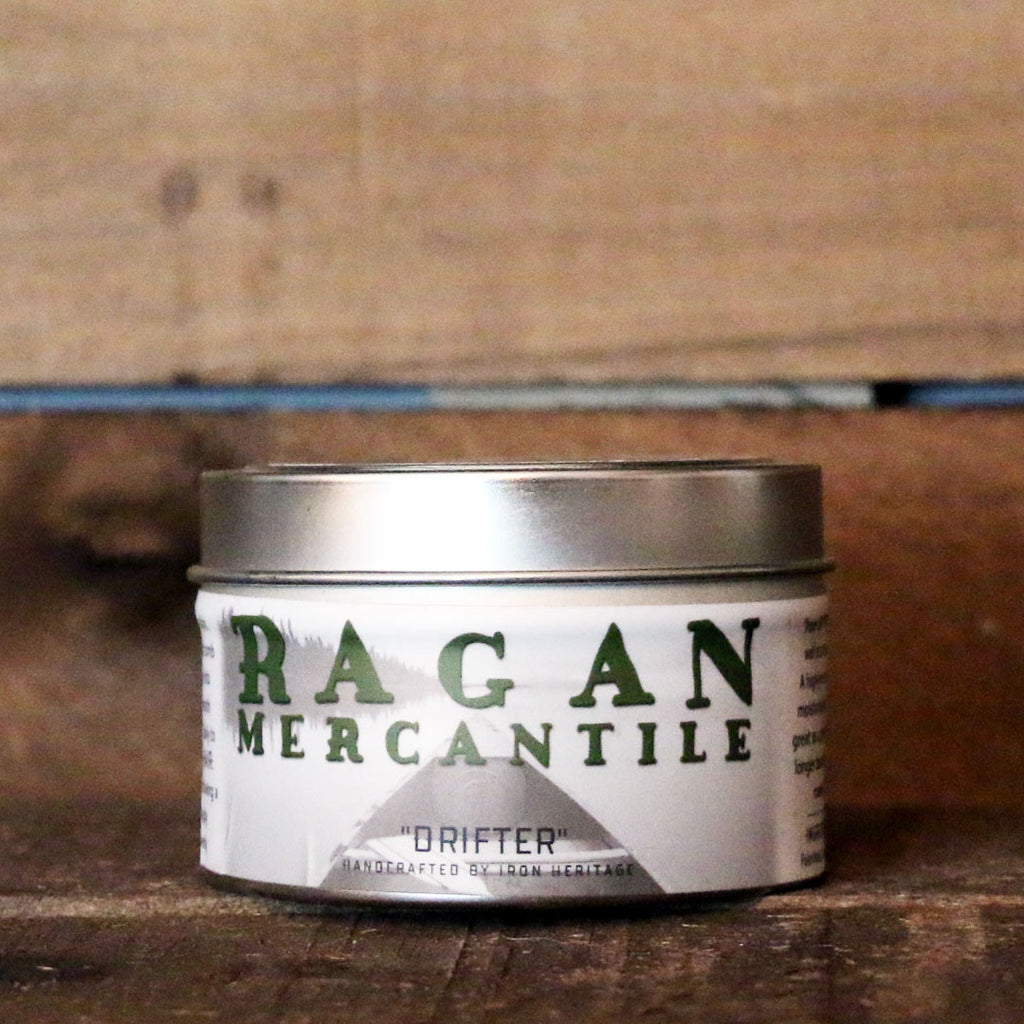 """Ragan Mercantile Drifter Iron Oil"" by Iron Heritage"