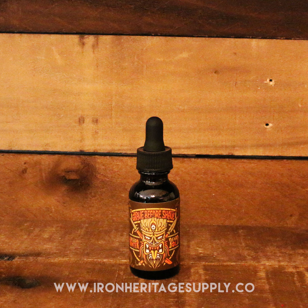 """Head Hunter Beard Oil"" by Grave Before Shave"