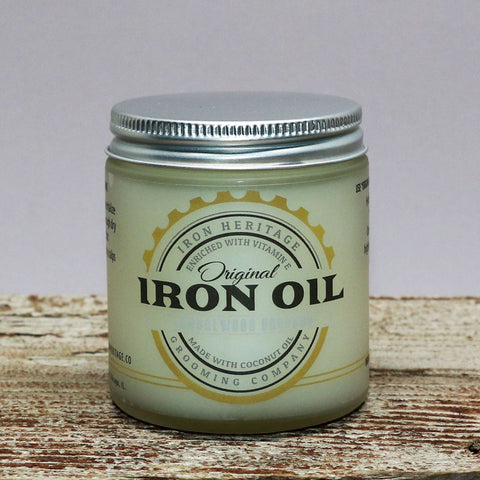 """Original Iron Oil"" by Iron Heritage"