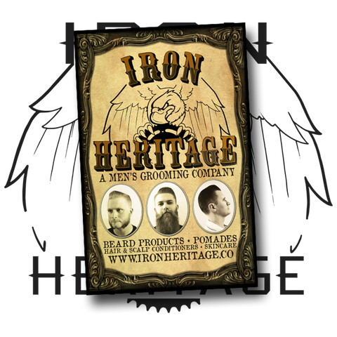 """11x17 Brand Poster"" by Iron Heritage"