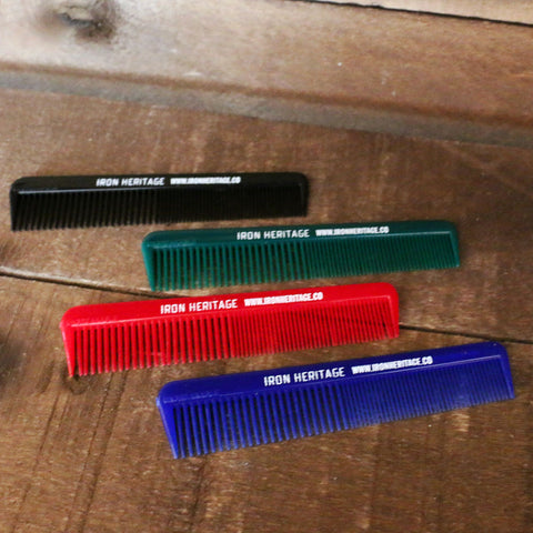 """Unbreakable 5″ Pocket Combs"" by Iron Heritage"
