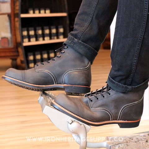 """Iron Ranger Style No. 8086"" (Charcoal) by Red Wing Shoes"
