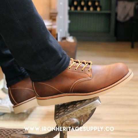 """Iron Rover Style No. 2950"" (Copper Touch) by Red Wing Shoes"