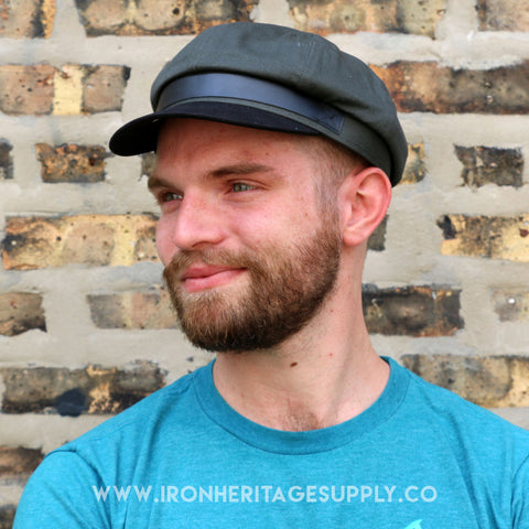 """Rooney Cap"" (Dark Grey/Black) by Straight to Hell"