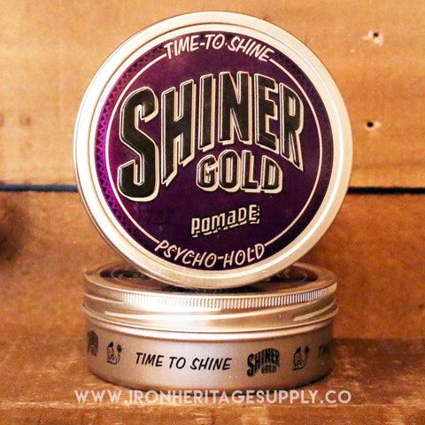 """Psycho Hold Hold Pomade"" by Shiner Gold"