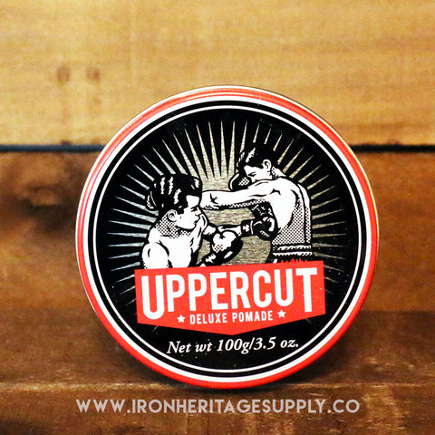 """Strong Hold Water Soluble Deluxe Pomade"" by Uppercut"