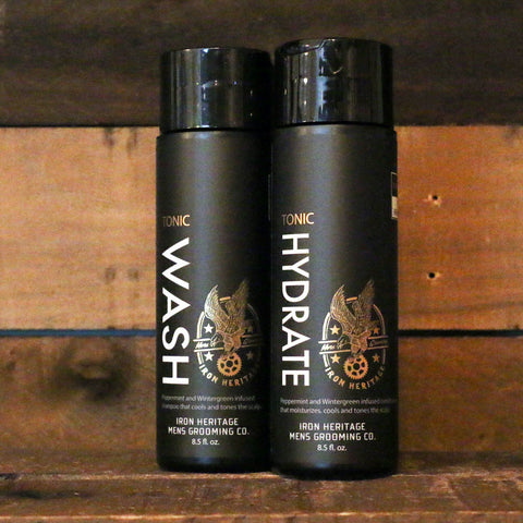 """Premium Tonic Wash Shampoo"" by Iron Heritage"