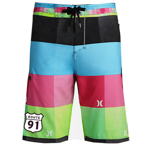 Board Shorts Volt Plaid