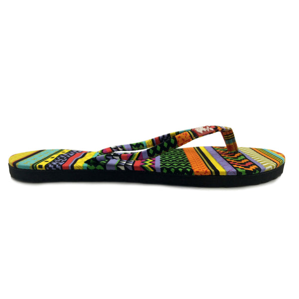 Chose Chic Kawaii Aztec Print Flat Flop Shoes for Women