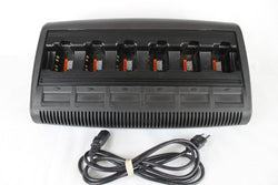 OEM Motorola IMPRESS 6 Bank Gang Charger, HT750,1250,1550, PR860, EX500,600, MTX by Motorola - Accessory Type  - Used Radios Product Image