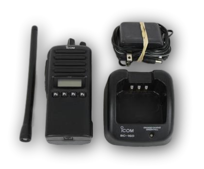 Icom IC-F33GS VHF Portable Radio