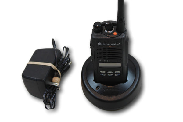 Motorola HT1250 Low Band (29-42MHz) Portable Radio (Ltd Keypad)