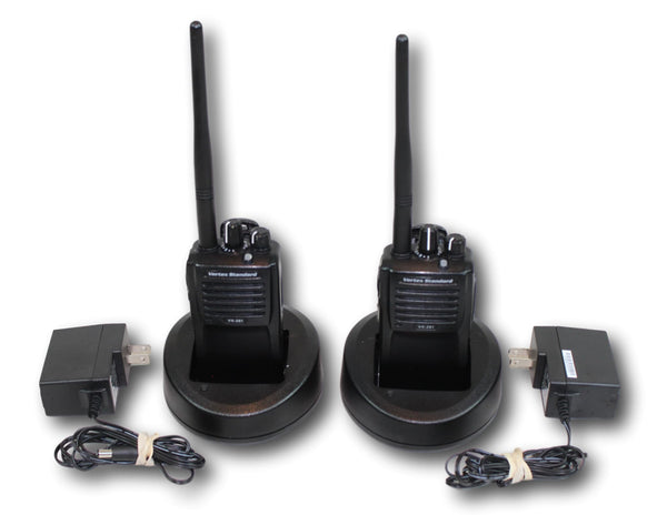 "Vertex VX-261-DO-5 VHF (136-174 MHz) ""2-Pack"" Portable Radios"