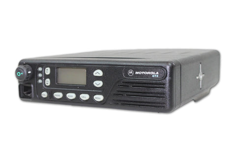 Motorola GTX800 800MHz Mobile Radio (15W) - Privacy Plus