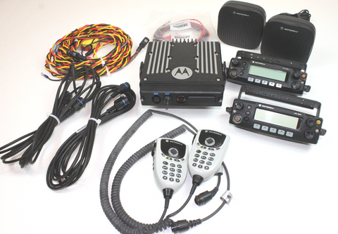 Motorola XTL2500 Dual Head 800MHz Mobile Radio P25 AMBULANCE
