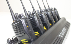 6-Pack of Vertex VX-451-G7-5 UHF (450-512MHz) Portable Radios w/ ENGRAVING