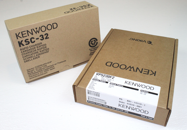 Kenwood EF Johnson VP5230 F2 VHF 136-174Mhz P25 Trunking Phase 2 NEW