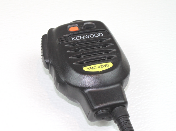 Kenwood KMC-42WD Heavy-Duty MIL-SPEC IP67 Speaker Mic