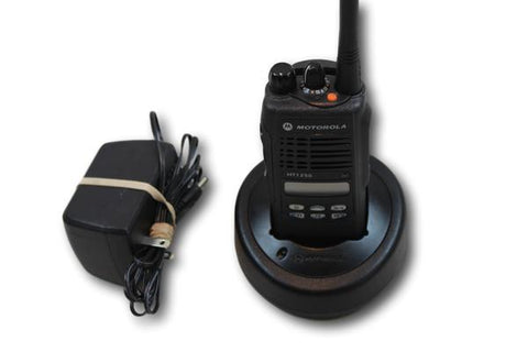 Motorola HT1250 Low Band (35-50MHz) Portable Radio (Ltd Keypad)