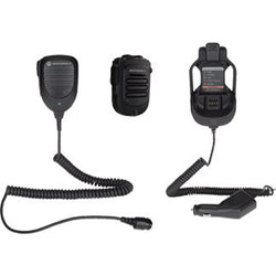 Motorola RLN6551B Long Range Wireless/Bluetooth Speaker Mic Kit w/ Vehicle Charger (APX, XPR, XTL)