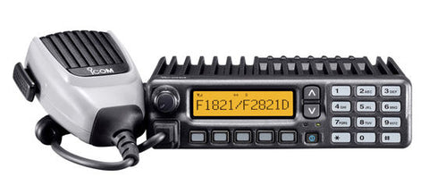 Icom IC-F2821 UHF (450-512MHz) Mobile Radio (New)
