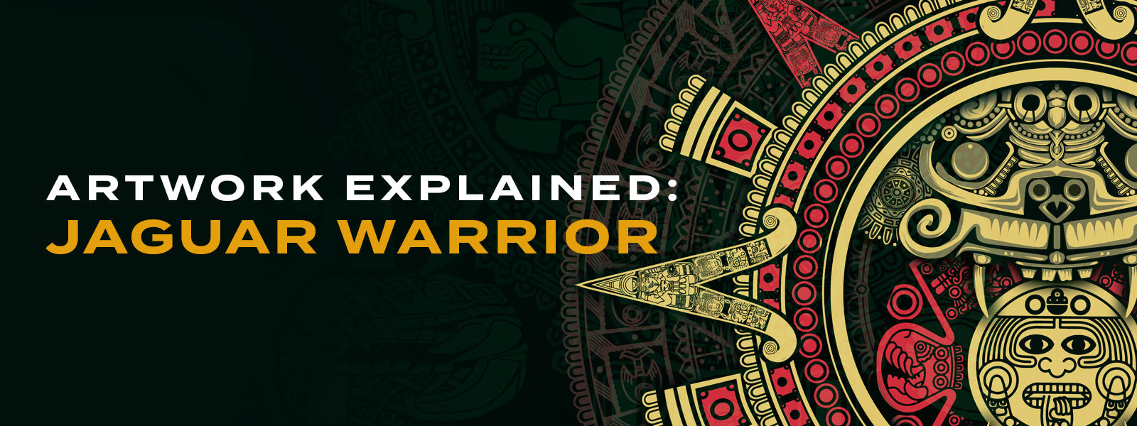 Artwork Explained: Jaguar Warrior