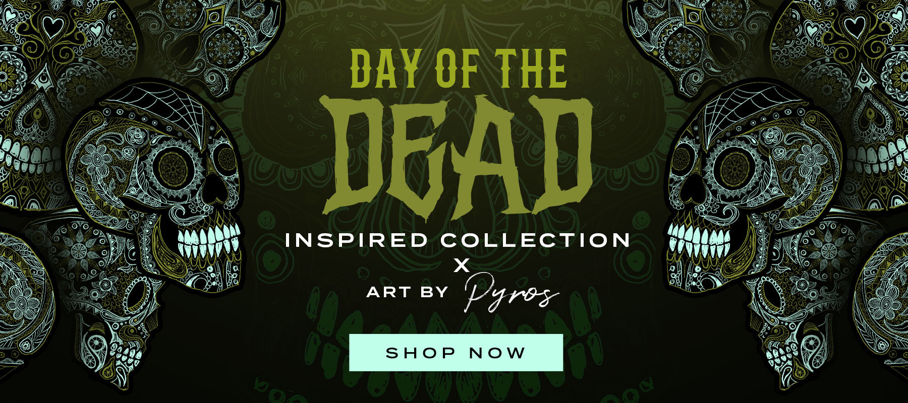 Day Of The Dead Apparel Range