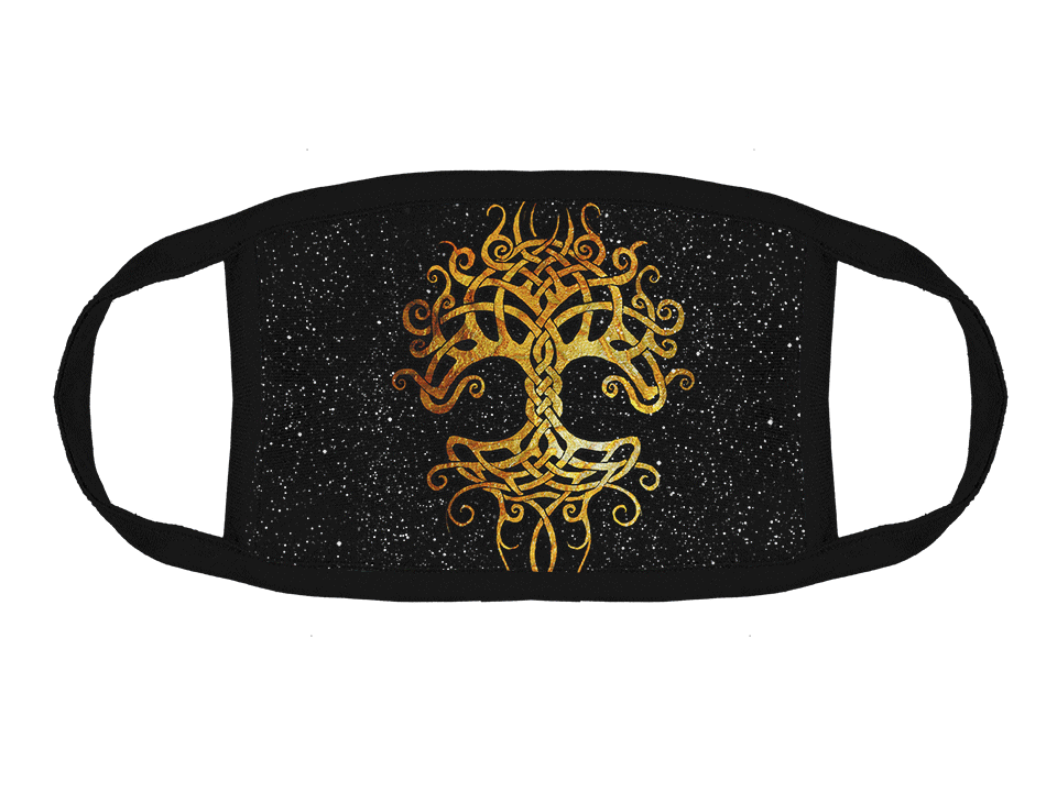 Yggdrasil Face Mask