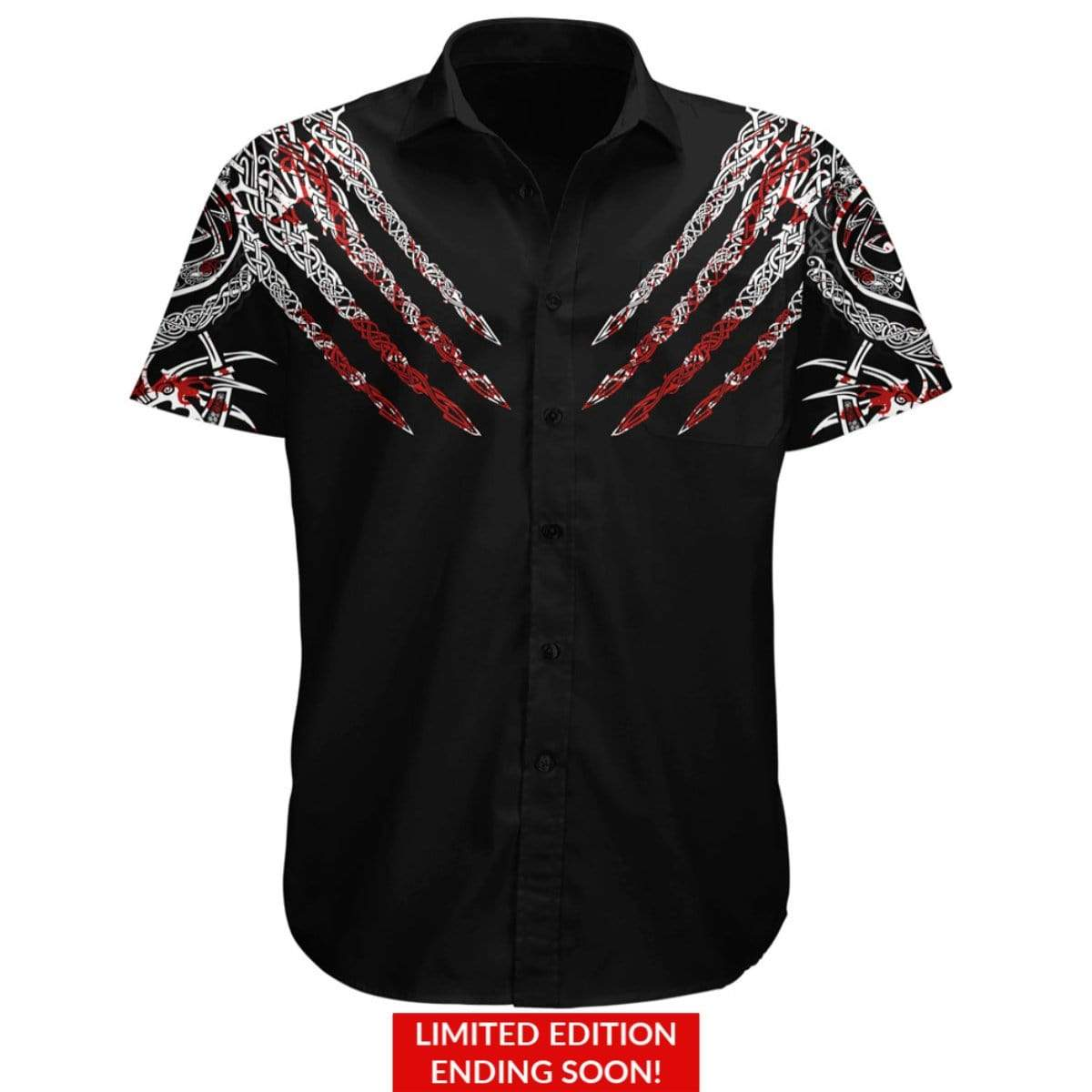 Berserker Button Up Shirt-Limited
