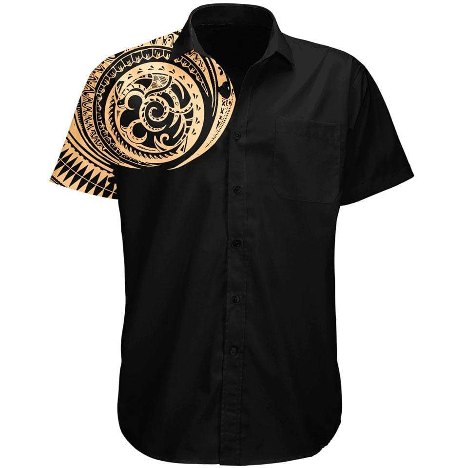 Polynesian Button Up Shirt