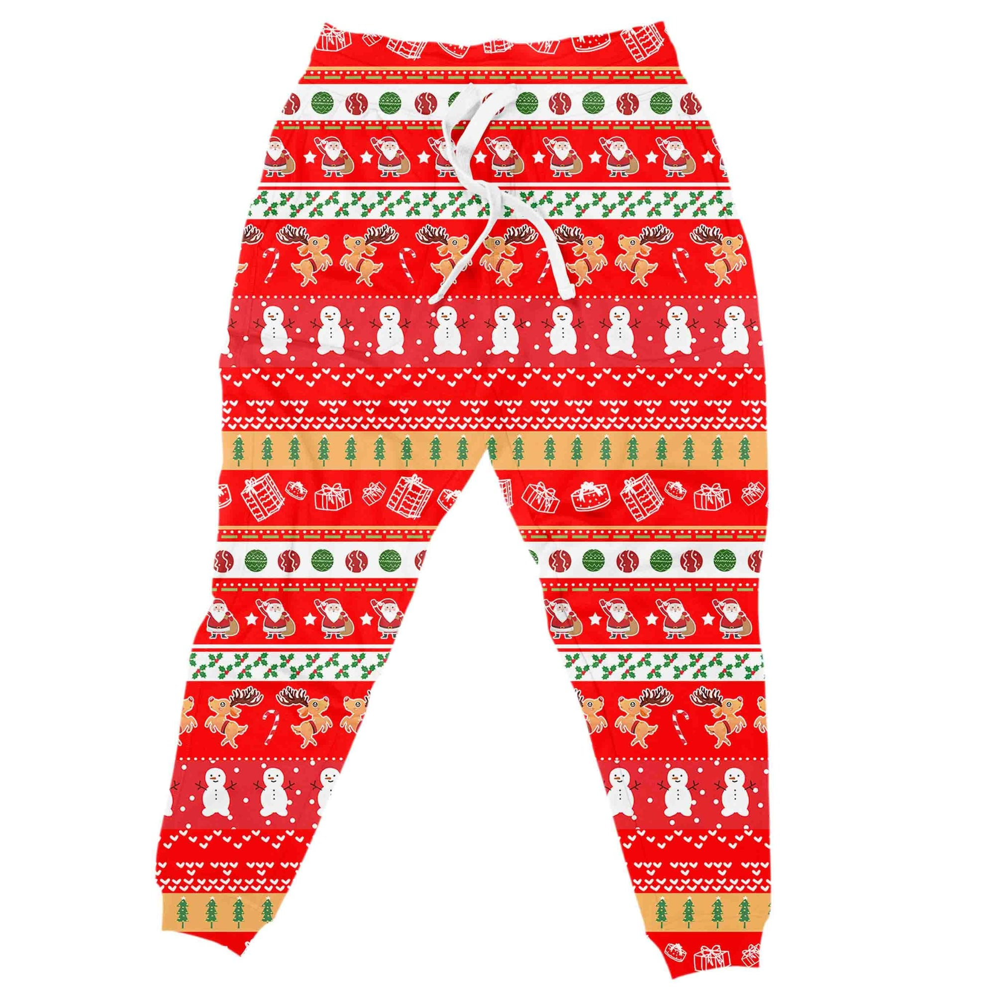 Lets Be Naughty Christmas Joggers