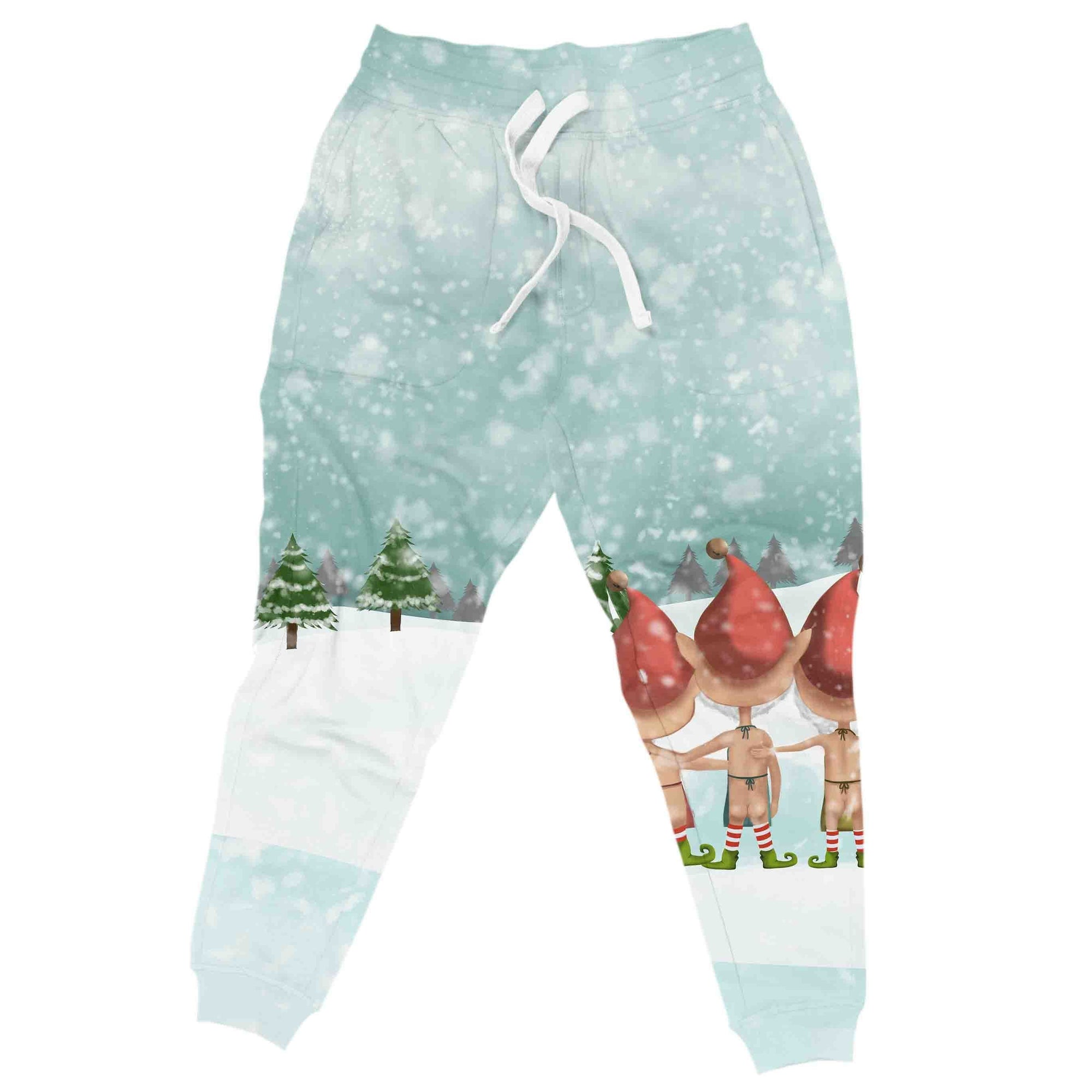 Naughty Elves Christmas Joggers