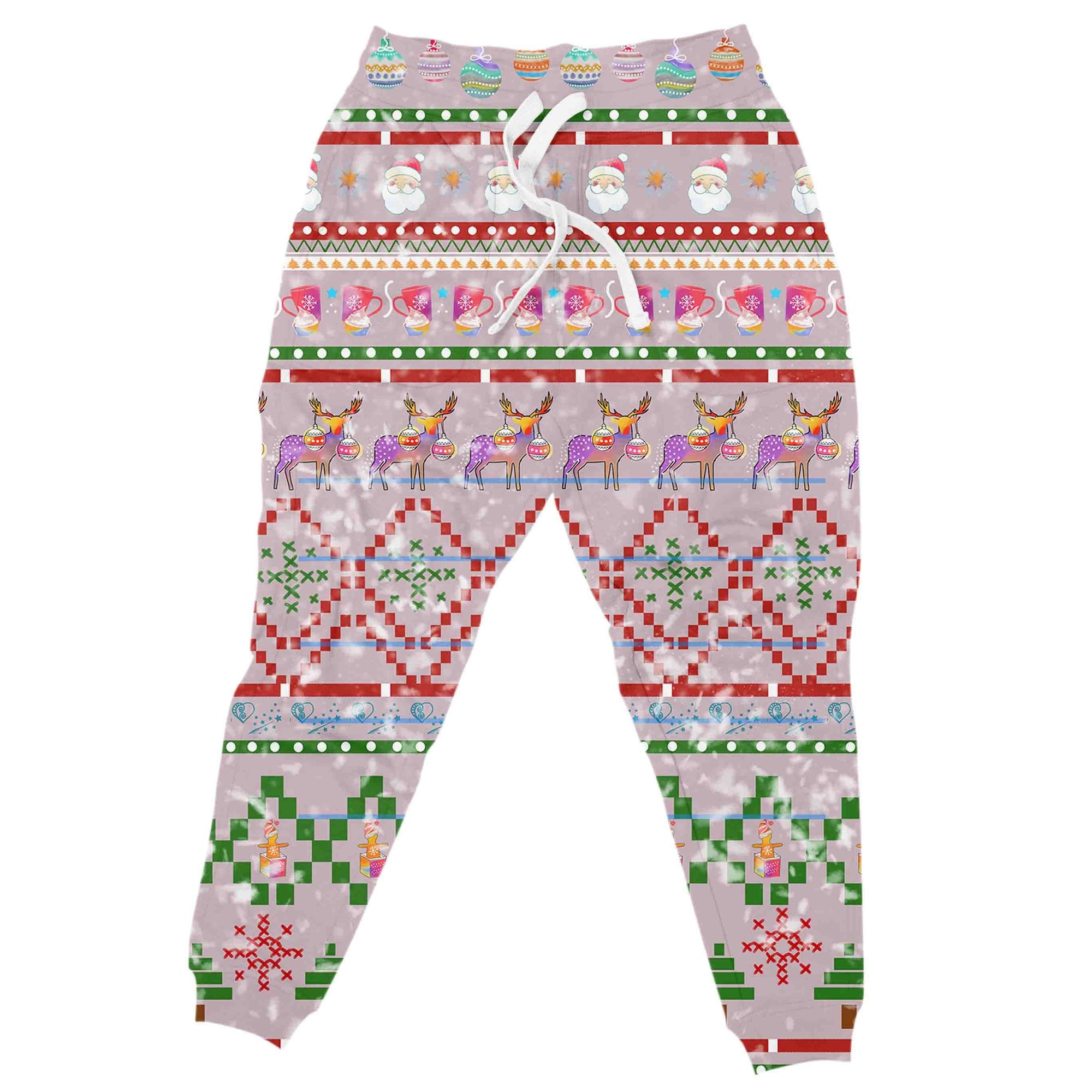 The Naughty List Christmas Joggers