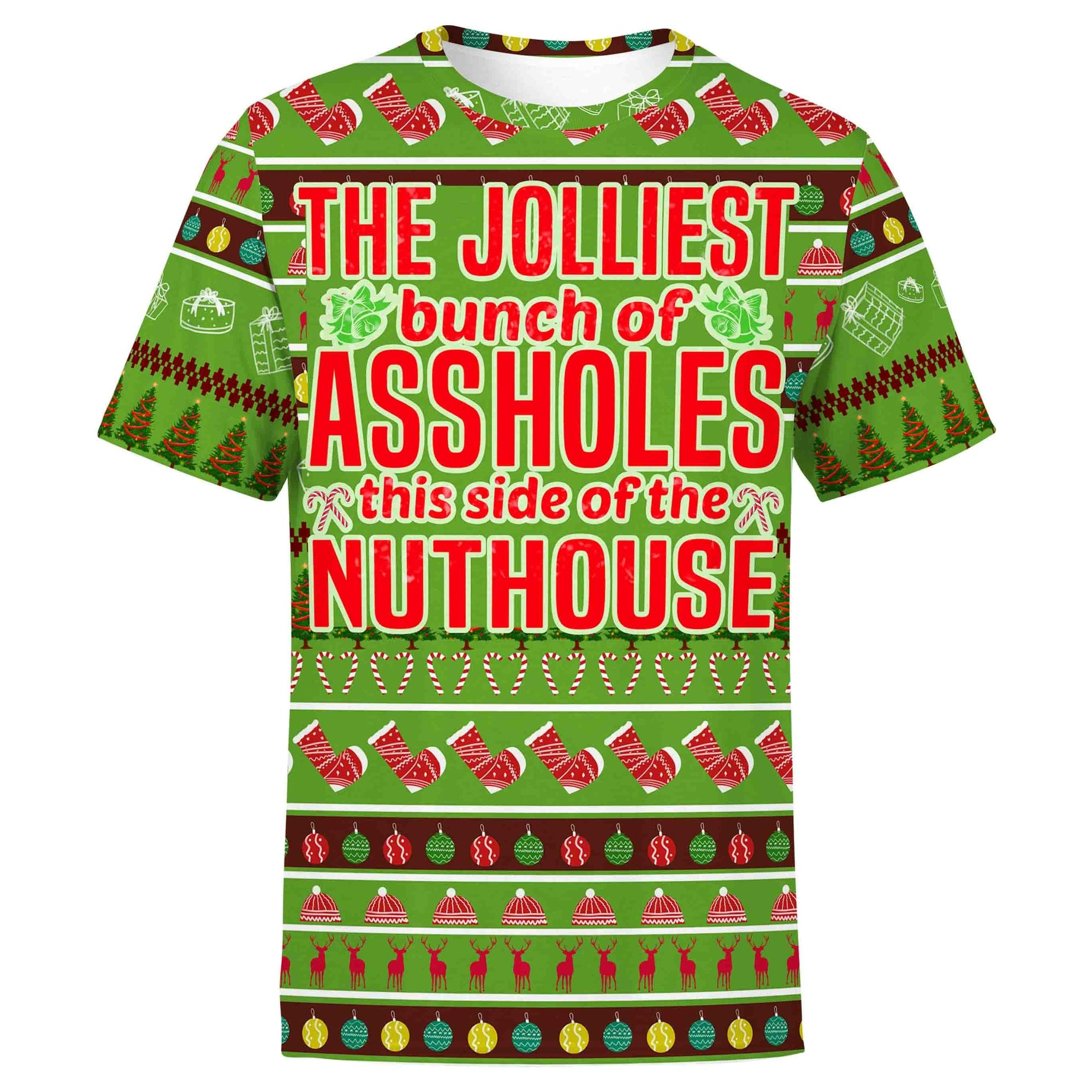 Christmas Shirt S The Jolliest Bunch Christmas Shirt JOLLIEST_T-SHIRT-3.0_SM