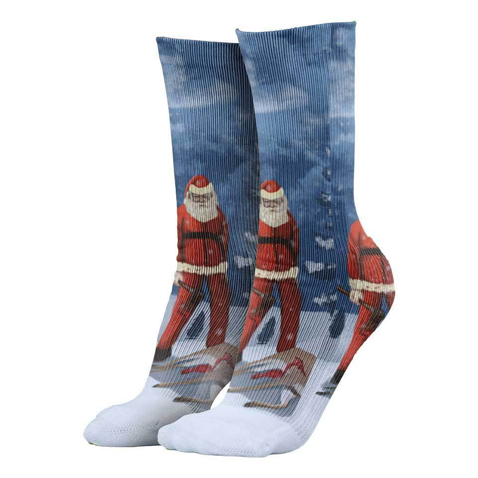 Bad Santa Christmas Socks