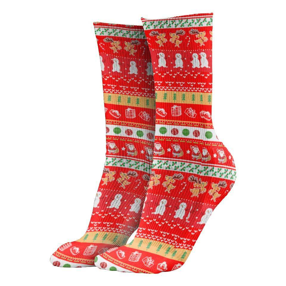 Christmas Socks Lets Be Naughty Christmas Socks LETS-BE-NAUGHTY_CREW-SOCKS
