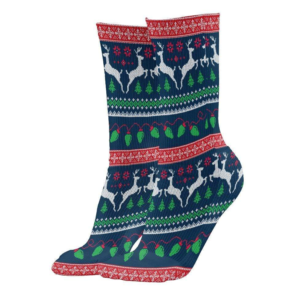 Naughty & Loving It Christmas Socks