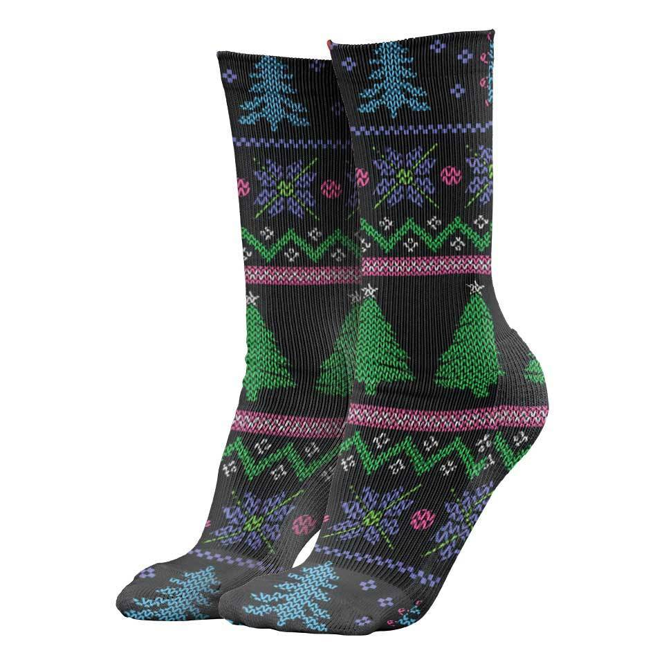 Rainbow Unicorn Christmas Socks