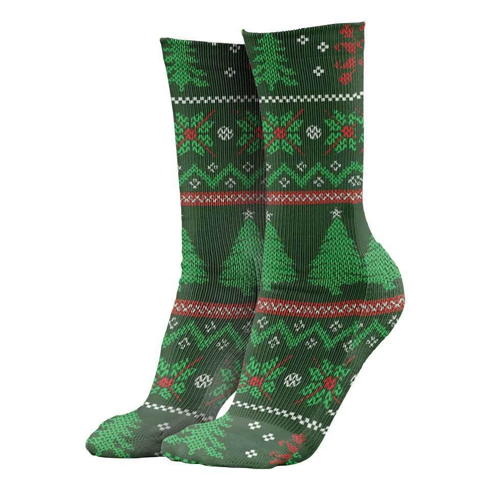 The Naughty List Christmas Socks