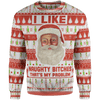 Christmas Sweater 4XL That's My Problem Christmas Sweater Naughty-Bitches_Sweater_4XL